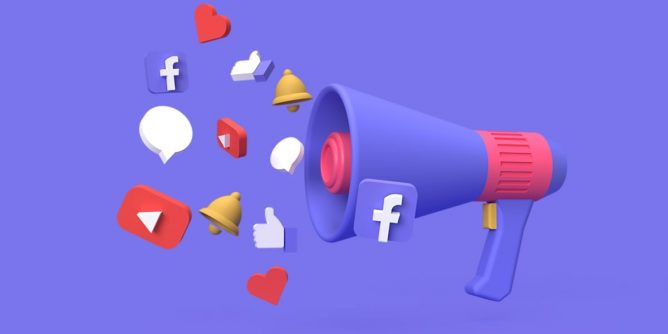 3d-social-media-digital-marketing-campaign-concept-with-blue-background-rendered